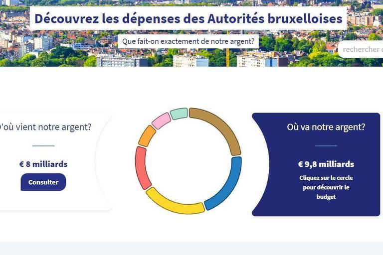 Le gouvernement bruxellois publie une version simplifiée de son budget