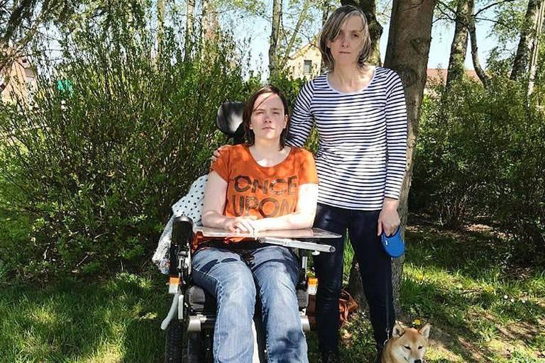 """Coralie, handicapée et en grève de la faim: """"En Belgique, il n'y a pas assez de solutions pour les personnes dans ma situation"""""""
