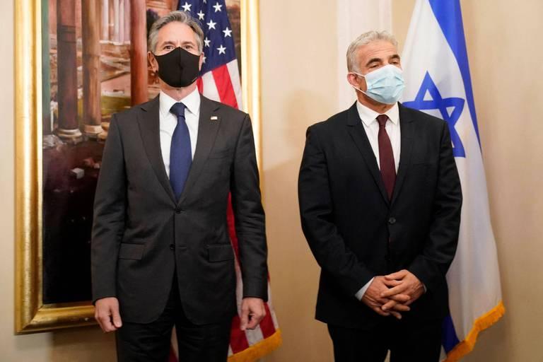 """Le nouveau chef de la diplomatie israélienne dit à Blinken ses """"réserves"""" sur le nucléaire iranien"""