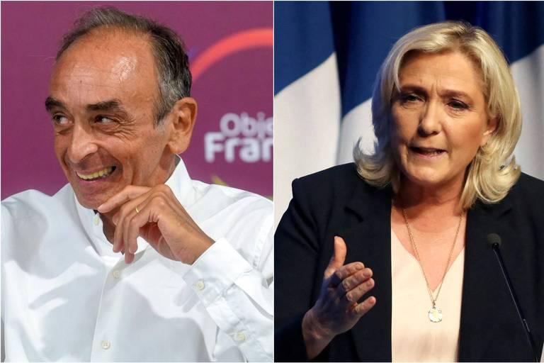 """Le Pen refuse de débattre avec Zemmour: """"La politique, ce n'est pas de la télé-réalité"""""""