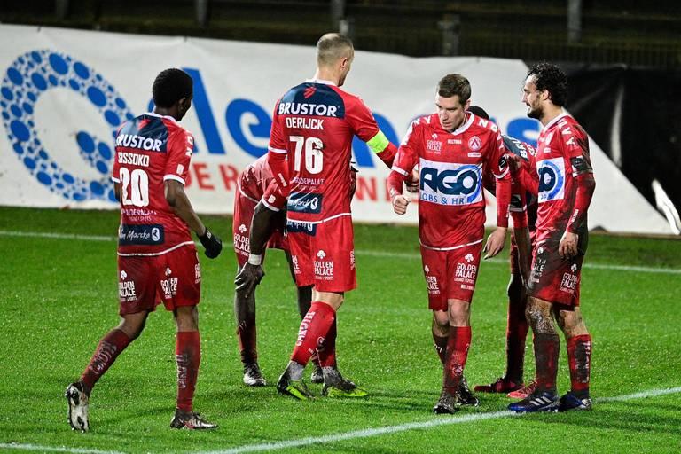 Croky Cup: Courtrai s'impose à Lommel (1-3) et passe en huitièmes de finale