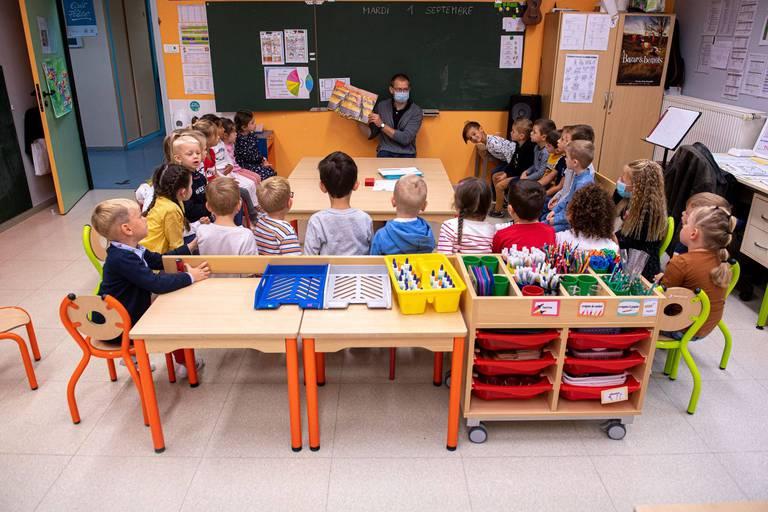"""Un test de néerlandais obligatoire pour les élèves de troisième maternelle en Flandre, avec redoublement en cas d'échec: """"C'est choquant"""""""