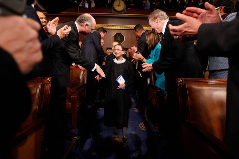 La disparition de la juge Ruth Bader Ginsburg : une aubaine ou un piège pour les Républicains?