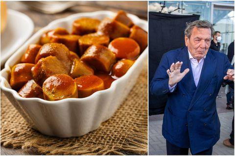 """""""Sauvez la currywurst!"""": l'ex-chancelier allemand Gerhard Schröder part en guerre contre une décision de Volkswagen"""