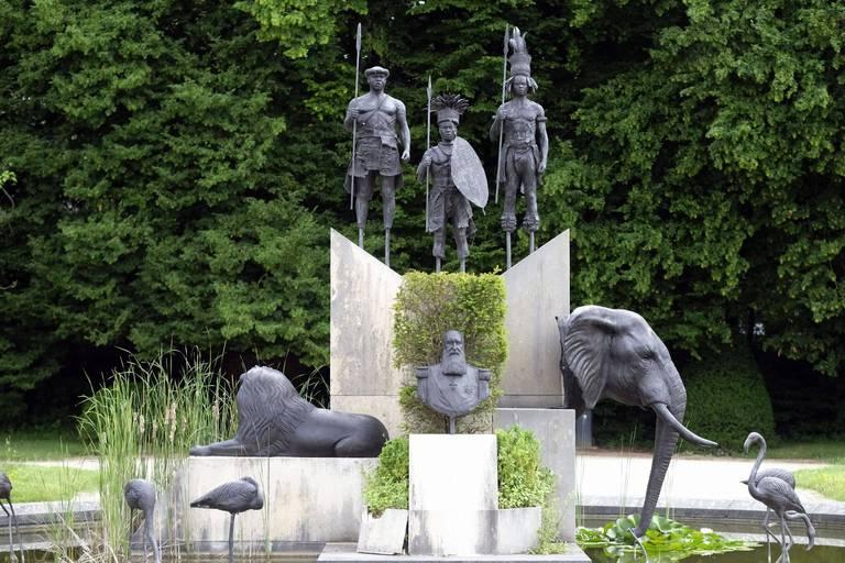 La statue de Léopold II dégradée pour la deuxième fois au Musée de l'Afrique à Tervuren