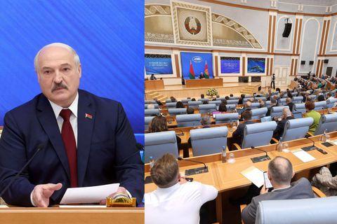"""Un an après sa réélection, Alexandre Loukachenko s'offre une """"grande conversation"""" sans contradiction"""