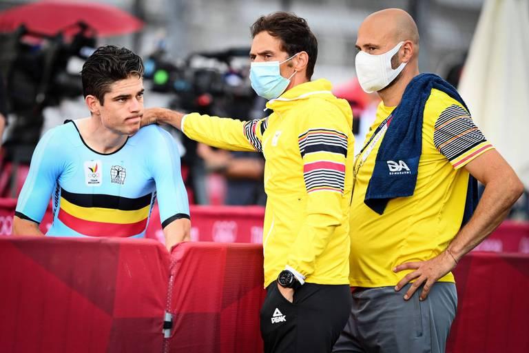 """Grosse déception pour Van Aert: """"Ce n'est pas le résultat que j'espérais"""""""