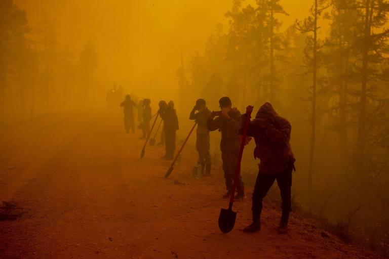 """Des feux de forêt """"extrêmes"""" sévissent dans le centre de la Russie"""