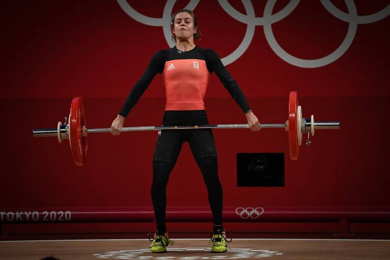JO: Nina Sterckx, 5e en haltérophilie en -49kg avec un record de Belgique