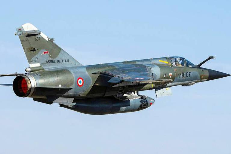 Tchad. 16/01/2012 Operation Serval Mirage F1 CR. Armee Francaise engagee au Mali. Reporters / NewsPictures