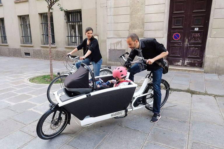 """Bruxelles tente d'adopter """"la culture du vélo-cargo"""""""