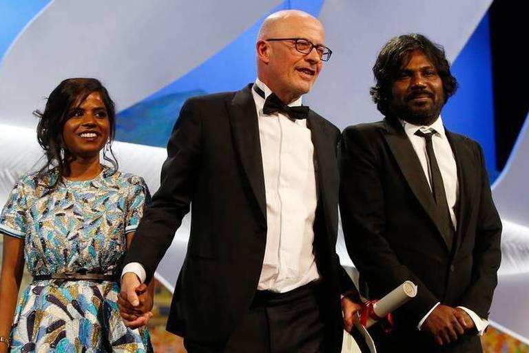 Cannes : la palme d'or revient à Jacques Audiard pour Dheepan