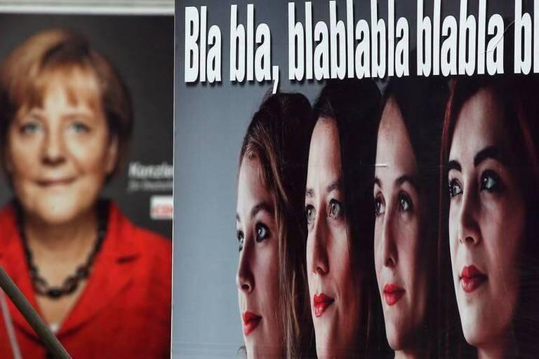 A 48 heures des législatives, Merkel mise tout sur sa personnalité