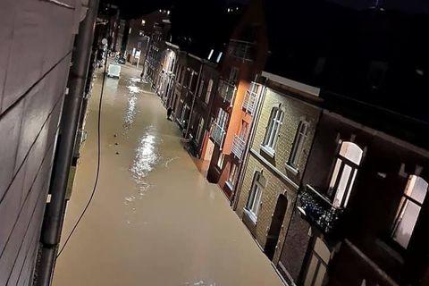 A Namur, les dégâts matériels sont pires que la semaine dernière