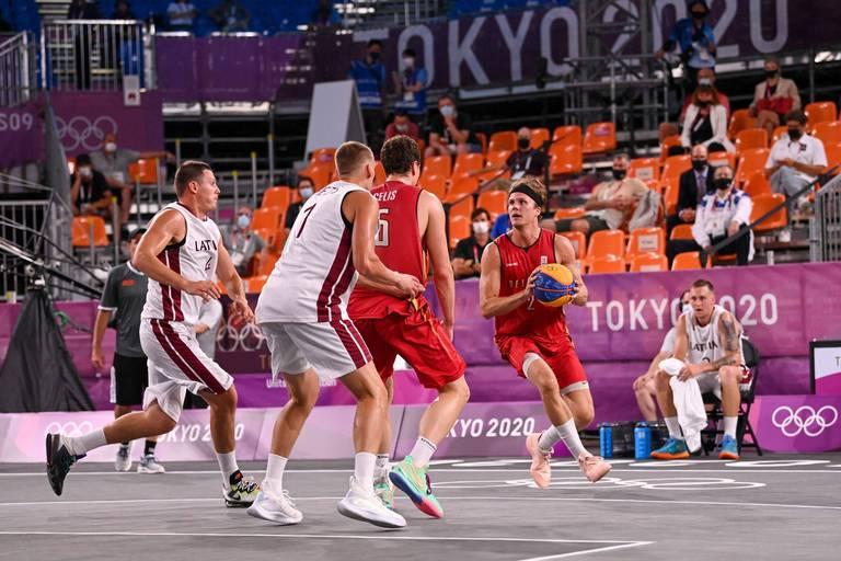 Basket 3X3: après l'exploit contre la Lettonie, la Belgique s'incline face au Japon dans son 2e match