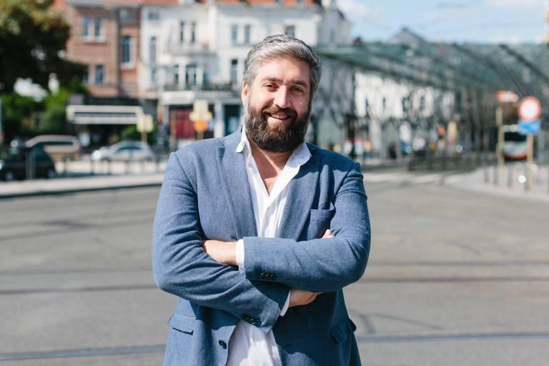 Mathieu de Lophem, CEO de Skipr, a le sourire: ALD va doper la croissance de la start-up.