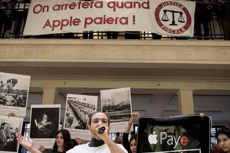 France: la justice refuse d'interdire les actions d'Attac dans les magasins Apple