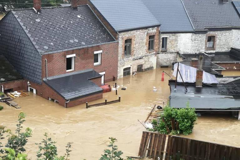 La désolation à Rochefort, complètement sous eau