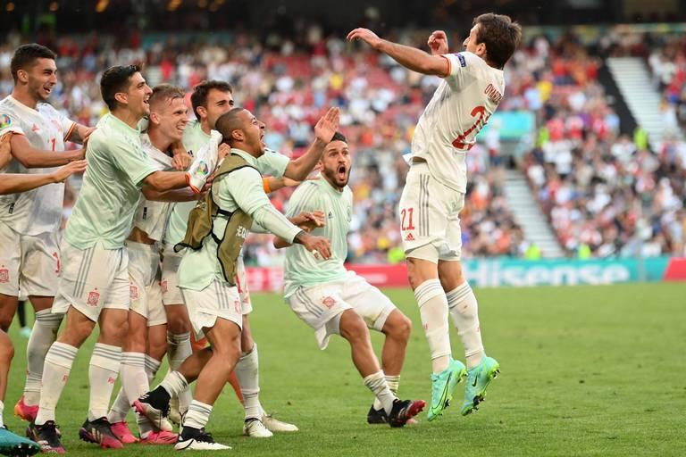 """""""Folie totale"""", """"le match de l'Euro"""", """"incroyable"""": la rencontre entre l'Espagne et la Croatie régale les internautes"""
