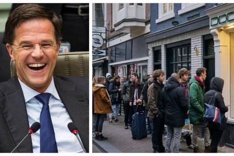 Coronavirus: la stratégie néerlandaise de la horde, une blague de très très mauvais goût