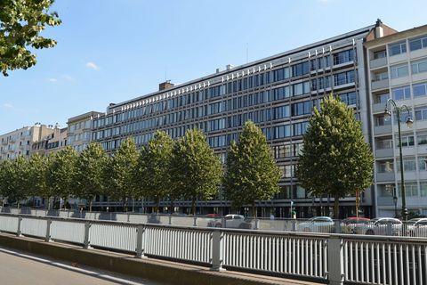 Les bâtiments de l'INAMI, avenue de Tervueren à Bruxelles, sont à vendre