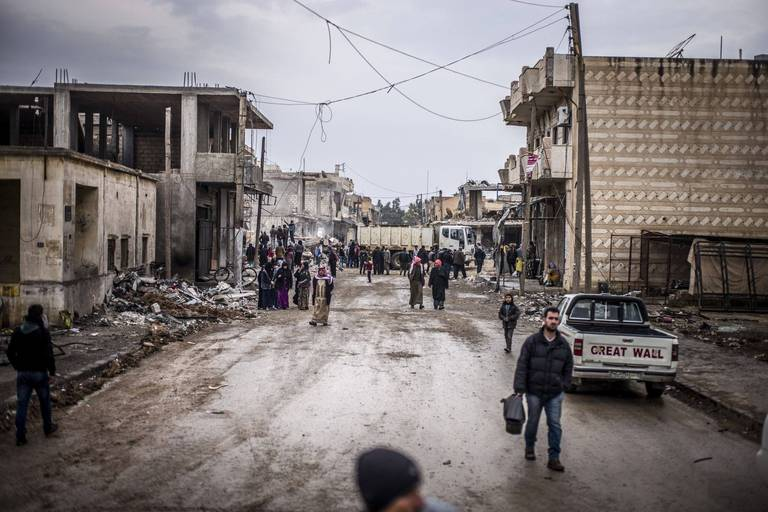 Conflit en Syrie: 26 combattants prorégime tués dans une attaque de l'EI