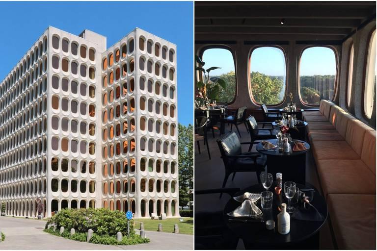 """""""Ici et Maintenant"""", un restaurant éphémère au 8e étage du mythique immeuble CBR"""