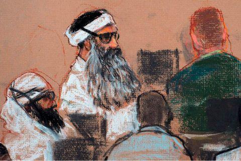 """""""KSM"""", le cerveau toujours pas condamné des attentats du 11-Septembre"""