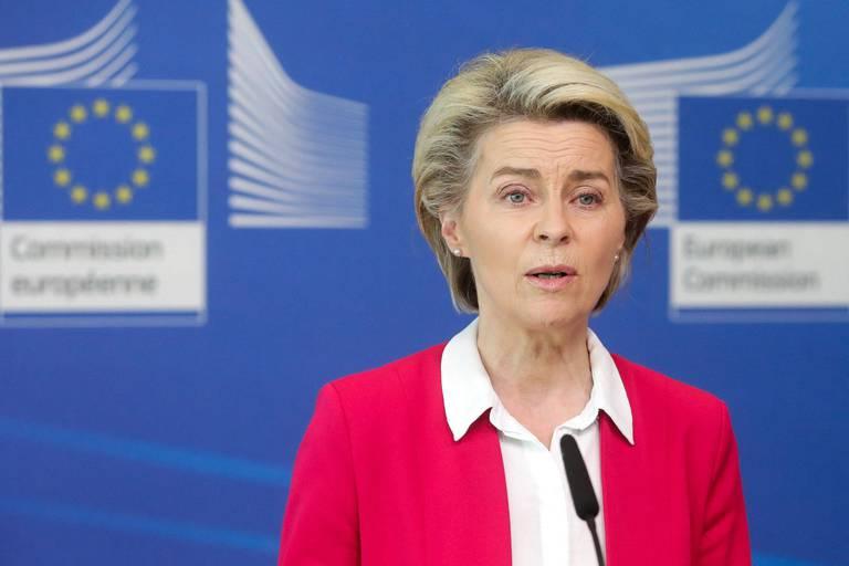 La présidente de la Commission européenne Ursula von der Leyen commencera sa tournée par le Portugal et l'Espagne.
