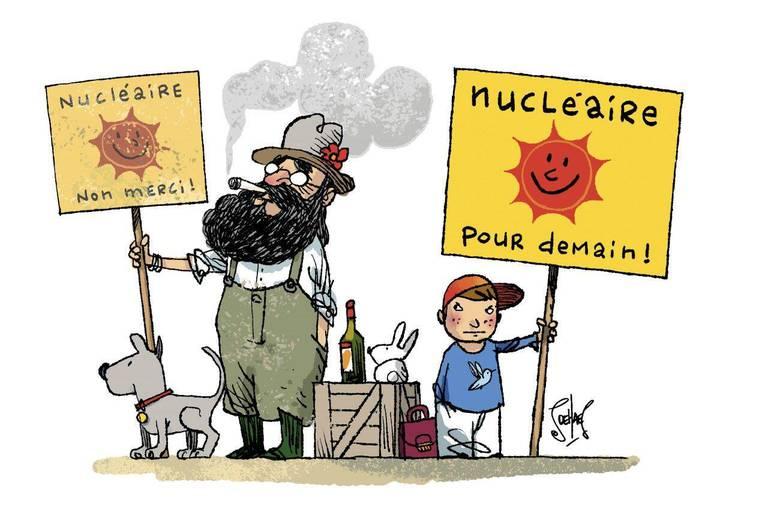 Nous demandons au gouvernement de reconsidérer la sortie du nucléaire