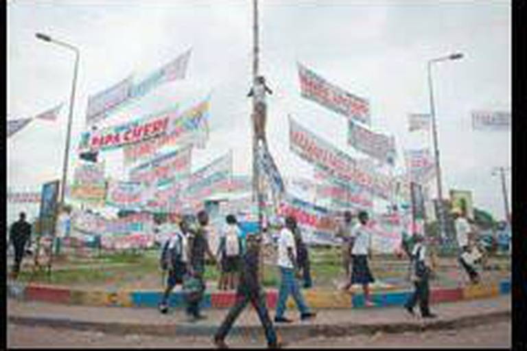 Des chars à Kinshasa après les propos de Tshisekedi