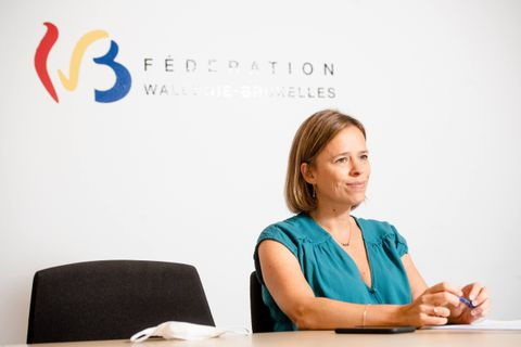 Bruxelles - Cabinet de la Ministre de l Enseignement en Federation Wallonie-Bruxelles - Caroline Desir (PS)