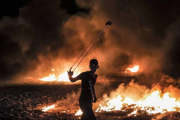 Incendies en Israël après des lancers depuis Gaza