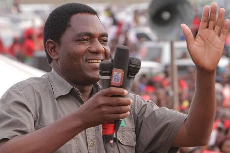 Zambie: Le principal opposant arrêté après une nuit de siège de sa résidence