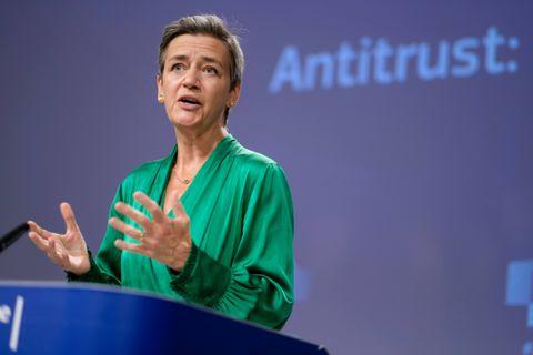 La commissaire européenne Margrethe Vestager.