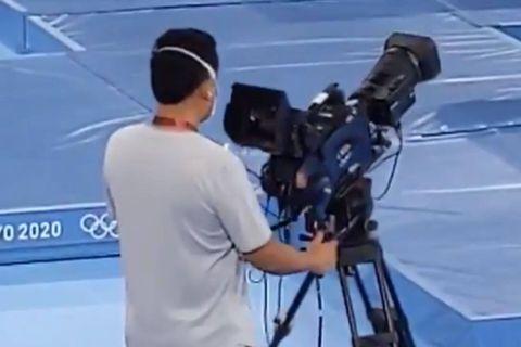 L'envers du décor du métier de caméraman du trampoline aux JO (VIDÉO)