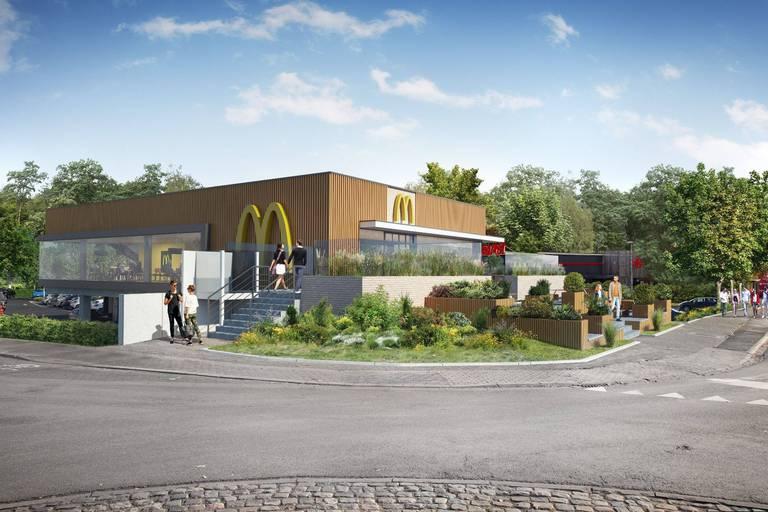 McDonald's persiste et introduit un recours suite au refus de son projet par la commune de Rixensart