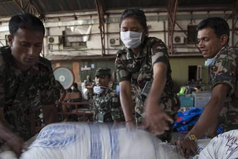 Au Népal, il n'y a plus aucune chance de retrouver des survivants