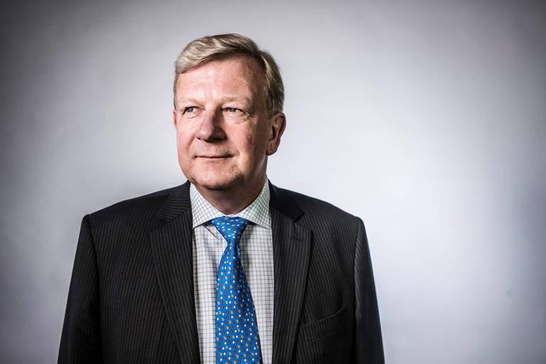 Vincent Van Dessel, le patron de la Bourse de Bruxelles.