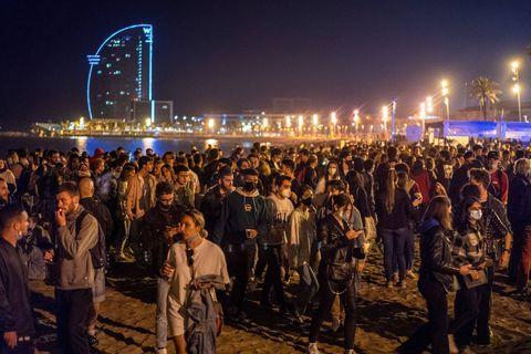Espagne: face à une situation toujours critique, le couvre-feu à nouveau prolongé en Catalogne