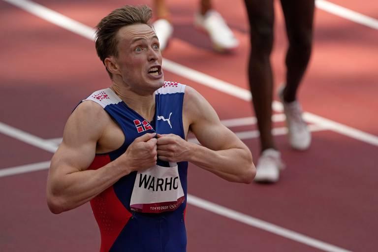 """Karsten Warholm, le Usain Bolt du 400 m haies : """"J'ai montré que c'était possible"""""""