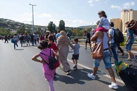 En Suède, l'afflux des réfugiés donne des ailes à l'extrême droite