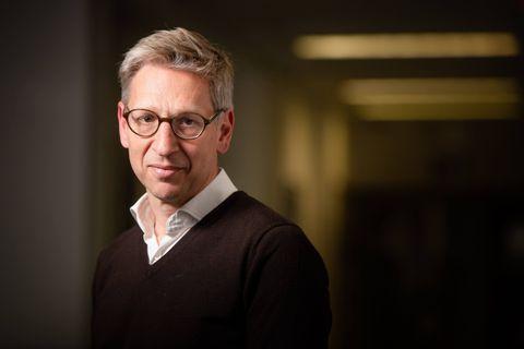 Bruxelles - Iris: Renaud Witmeur (PS) - CEO de Nethys (ad interim) detaille la procedure de remise en vente de VOO - a Bruxelles le mercredi 27 mai 2021