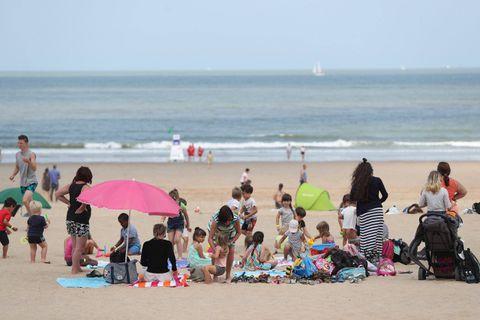 Quelque 200.000 touristes d'un jour ont profité du soleil à la Côte ce week-end