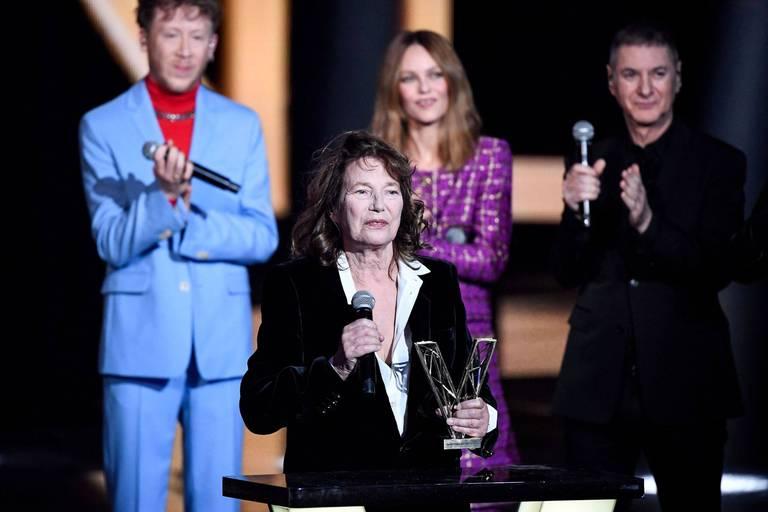 Jane Birkin honorée aux Victoires de la musique