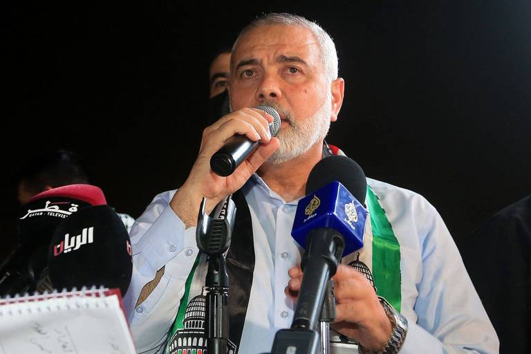 Ismaïl Haniyeh reconduit à la tête du Hamas