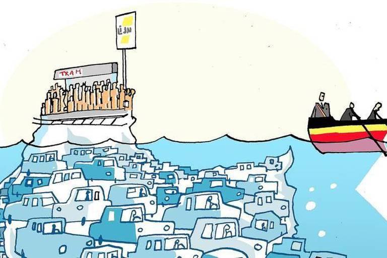 Trains, trams, bus: Où sont les politiques? (OPINION)