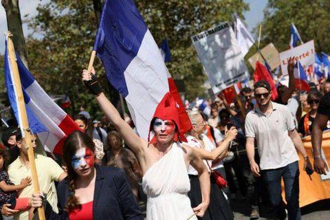 Neuvième semaine de mobilisation contre le pass sanitaire en France: 121.000 manifestants, dont 19.000 à Paris