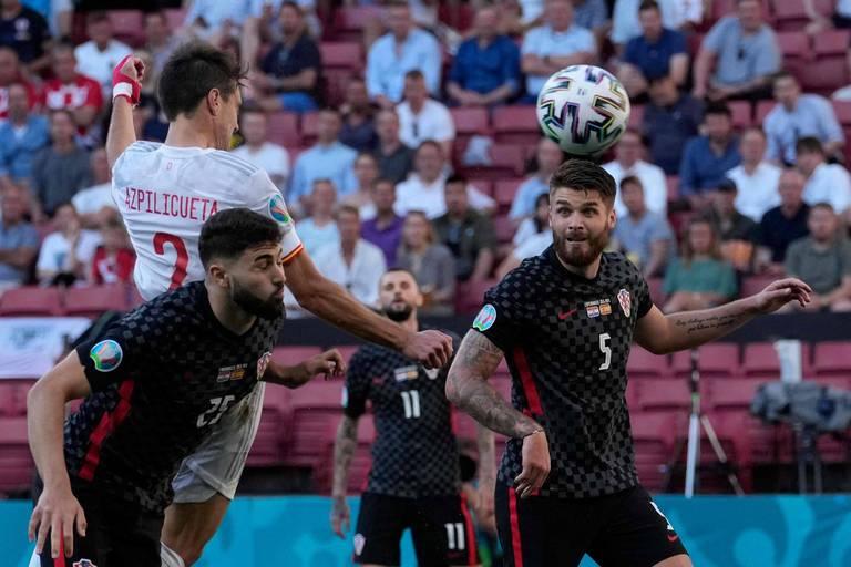 Après un match fou, l'Espagne sort la Croatie après les prolongations