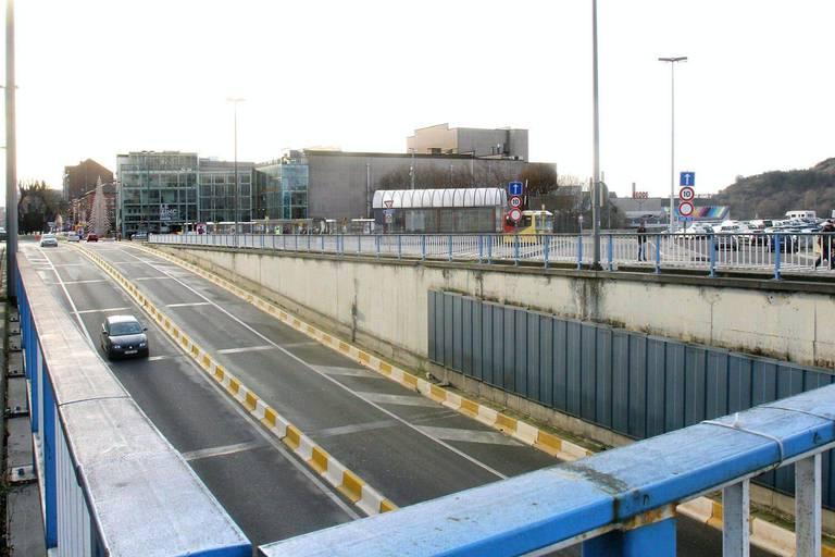 Charleroi: fermeture définitive du tunnel Roullier à partir de ce lundi 1er février